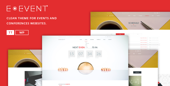 E-event - Conference & Event WordPress Theme