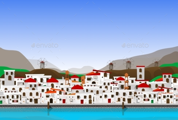 GraphicRiver Vacation in Greece 11525746