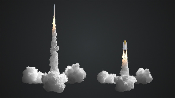 VideoHive Rocket Launch 11219942