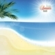 Abstract Sea Background With White Sand. - GraphicRiver Item for Sale