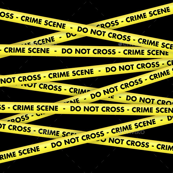 GraphicRiver Crime Scene Tape Background 11525843