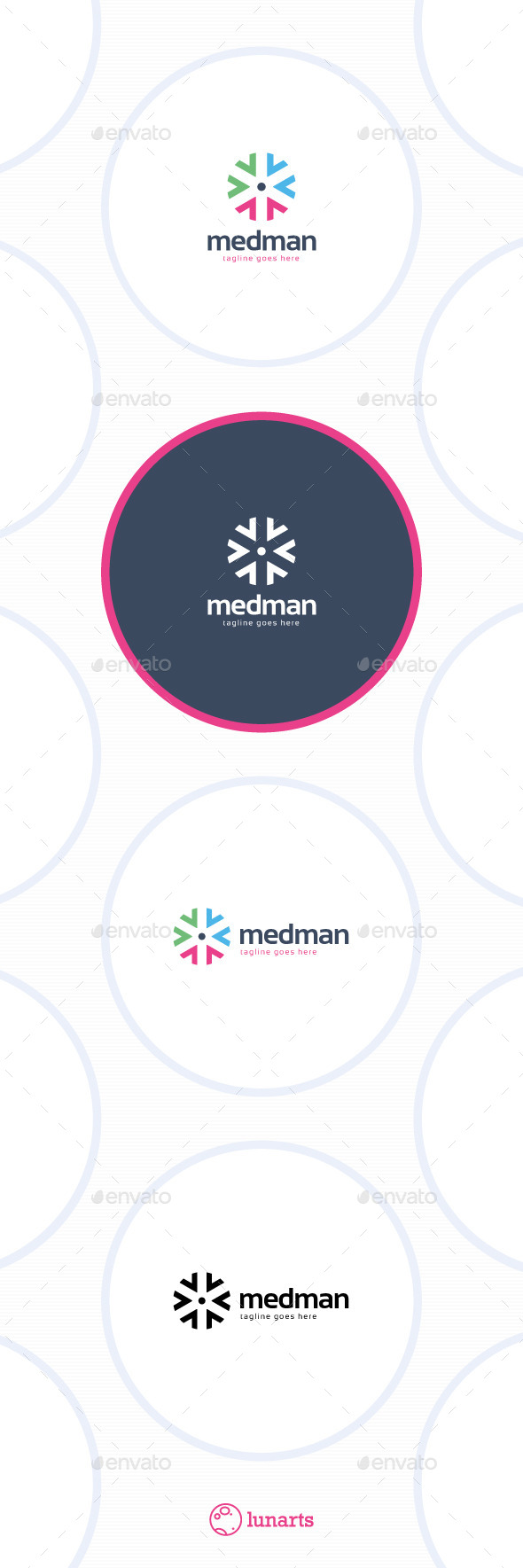 GraphicRiver Medical Man Logo 11526629