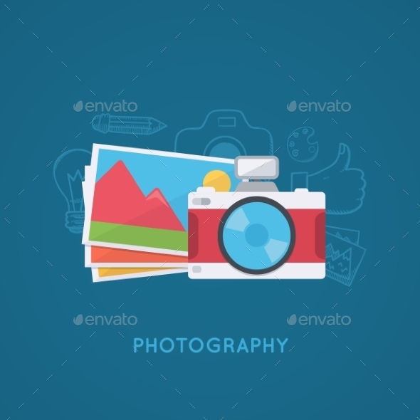 GraphicRiver Camera and Pictures 11526673