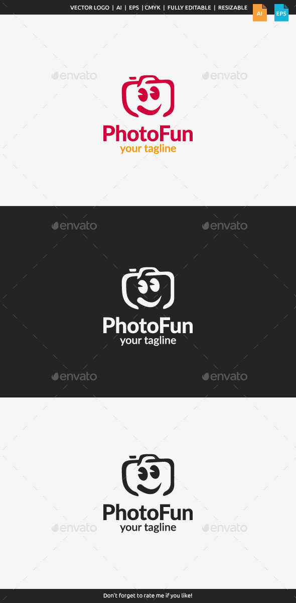 GraphicRiver Photo Fun Logo 11526675
