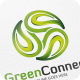 Green Connect / Leaf - Logo Template - GraphicRiver Item for Sale