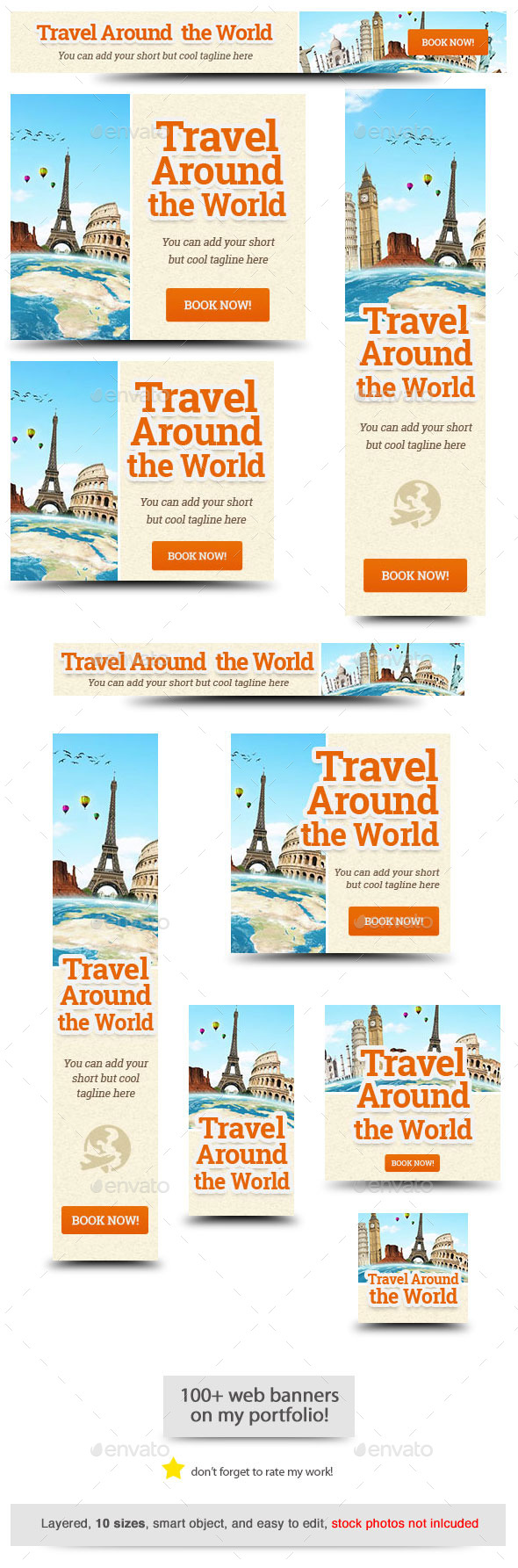 GraphicRiver Travel Around the World Banner 11526722