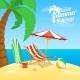 Sea Shore Beach View - GraphicRiver Item for Sale