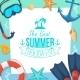 Sea Shore and Swimming Accessories - GraphicRiver Item for Sale
