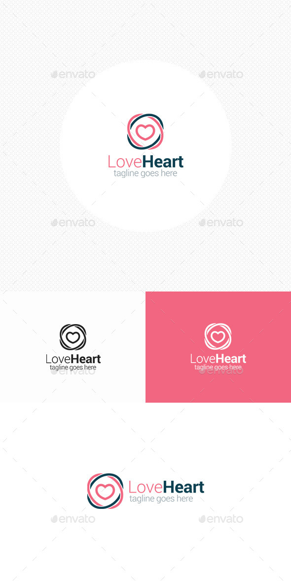 GraphicRiver Love Heart Logo 11527368