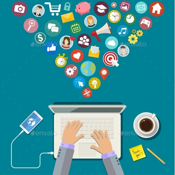 GraphicRiver Digital Marketing Concept 11527381