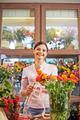 Happy floral designer - PhotoDune Item for Sale