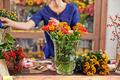 Fresh flowers in vase - PhotoDune Item for Sale