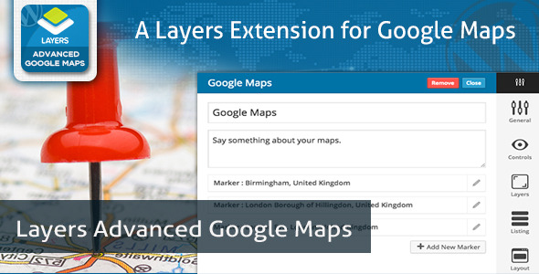 Layers Advanced Google Maps