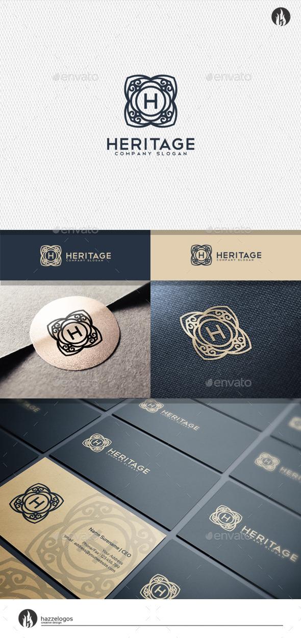 GraphicRiver Heritage Logo 11529630