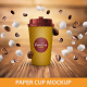 Paper Cup Mockup - GraphicRiver Item for Sale