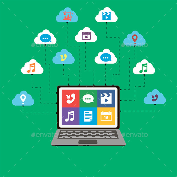 GraphicRiver Cloud Computing 11529997