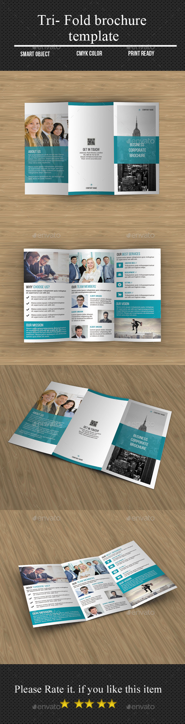 GraphicRiver Corporate Tri- Fold Brochure 11530063