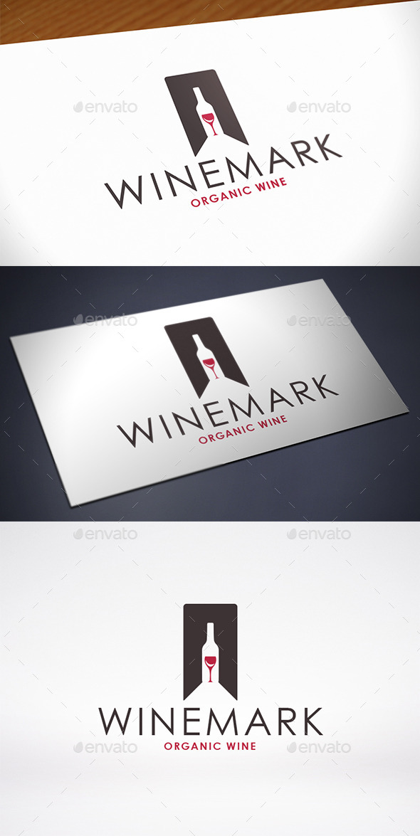 GraphicRiver Favorite Wine Logo Template 11530066