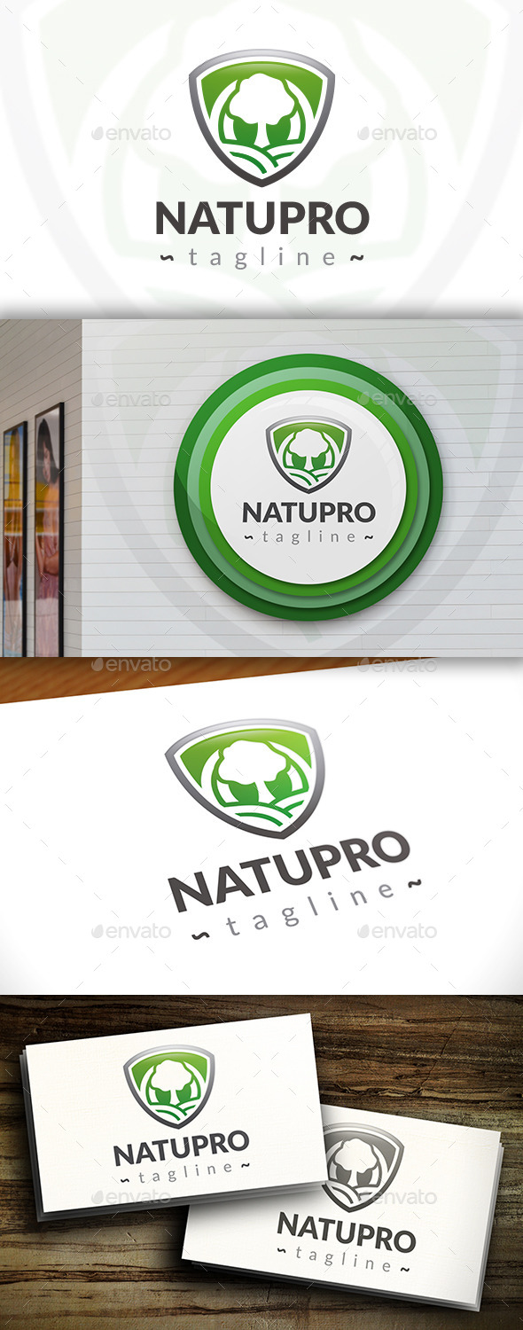 GraphicRiver Nature Protect Logo 11530317