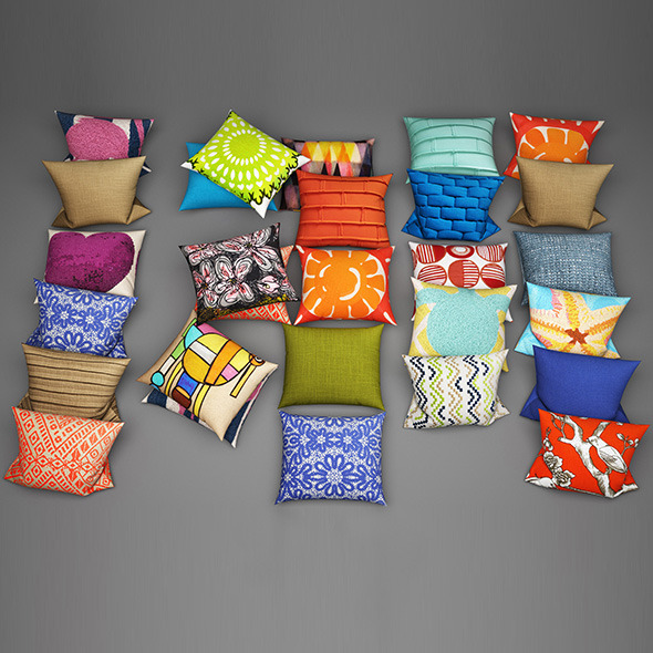 Pillows19 - 3DOcean Item for Sale
