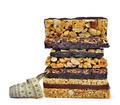 Chocolate Muesli Bars with measuring tape - PhotoDune Item for Sale