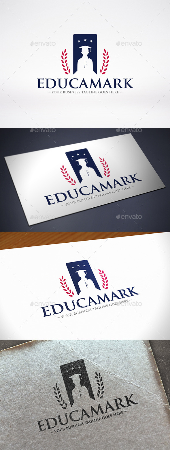 GraphicRiver Education Bookmark Logo Template 11530602