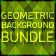 Geometric Background Bundle - GraphicRiver Item for Sale