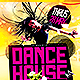 Dance House | Flyer Template PSD - GraphicRiver Item for Sale
