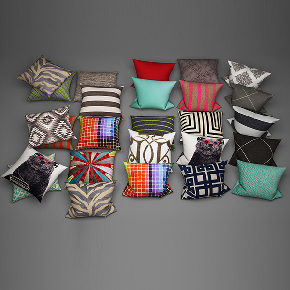 Pillows16 - 3DOcean Item for Sale
