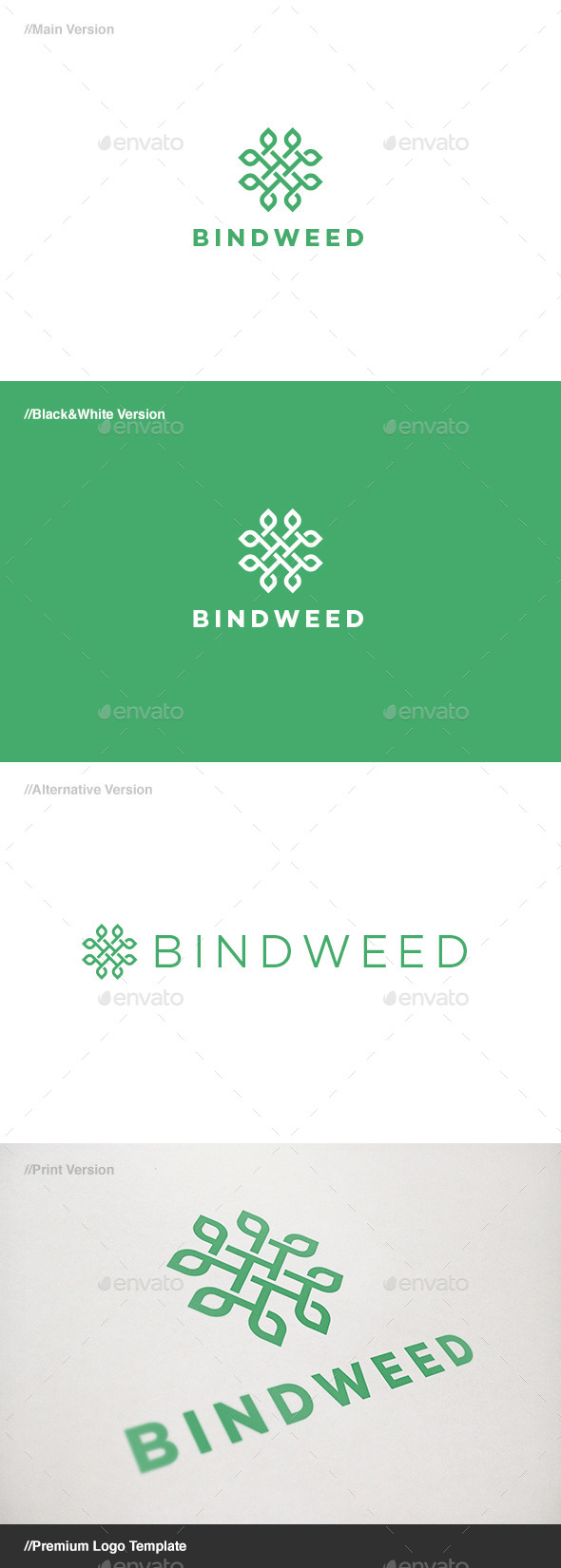 GraphicRiver Bindweed Logo 11515860