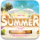 Summer Time Flyer Template - GraphicRiver Item for Sale