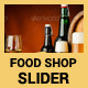 Food Shop Slider - GraphicRiver Item for Sale