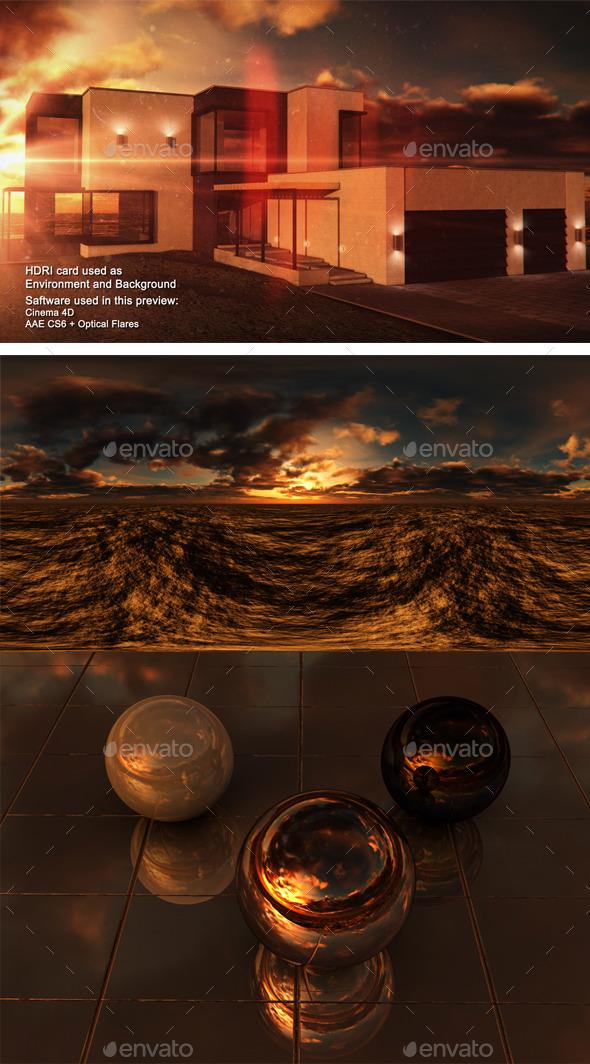 3DOcean Sunset Desert 21 11531112