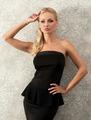 blond elegant woman near fashion wall - PhotoDune Item for Sale