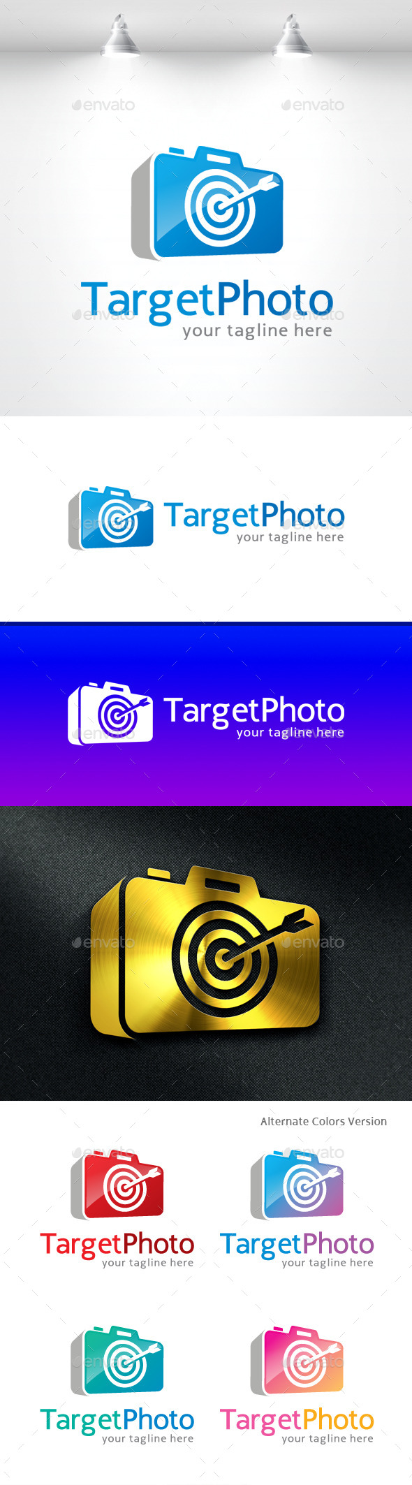 GraphicRiver Target Photo Logo Template 11531221