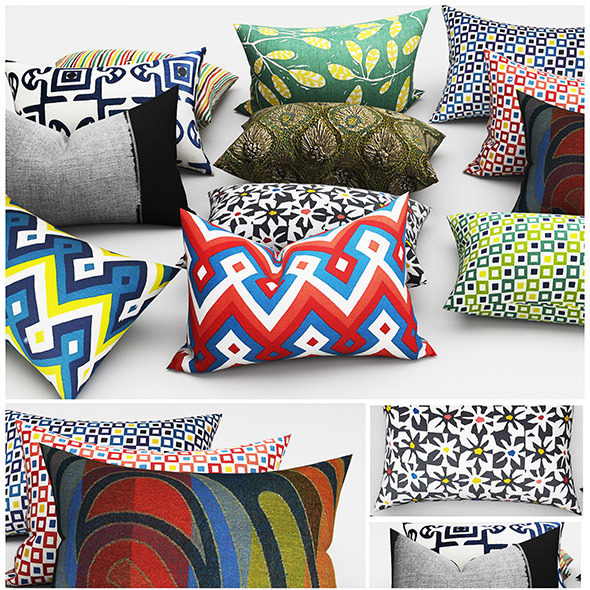 3DOcean Pillows cushion 11531374