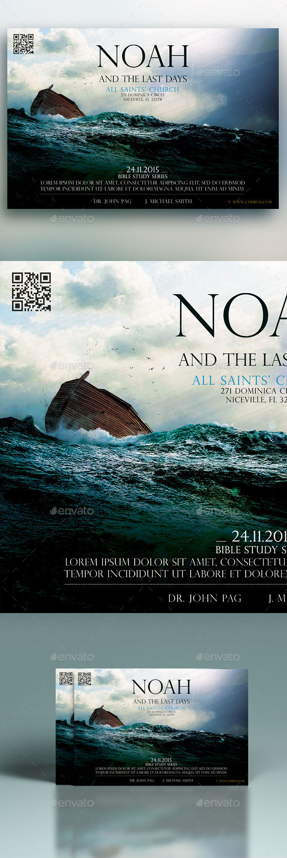 GraphicRiver Noah And The Last Days 11439616