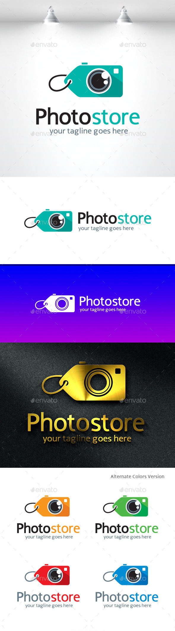 GraphicRiver Photo Store Logo 11531460