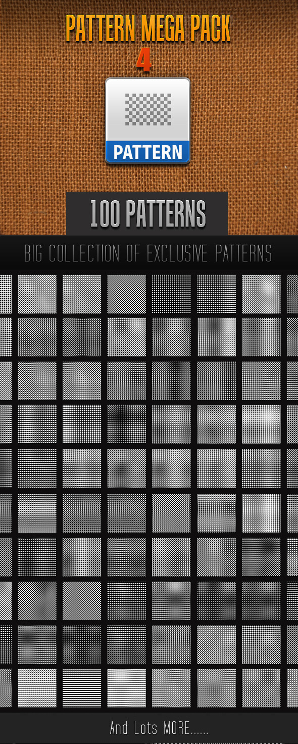 GraphicRiver 100 Mini Pattern Collection 4 11531520
