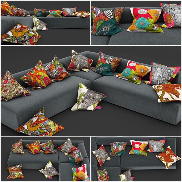 3DOcean Pillows 35 11531659
