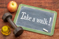 take a walk - fitness concept - PhotoDune Item for Sale