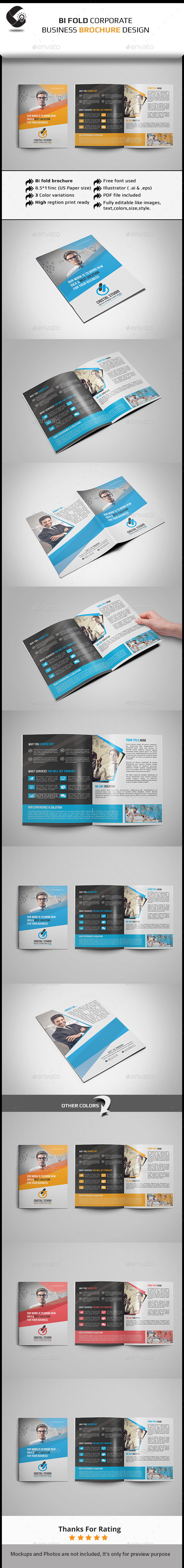 GraphicRiver Bi Fold Brochure 11531886