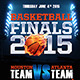 Basketball Finals Flyer Template - GraphicRiver Item for Sale