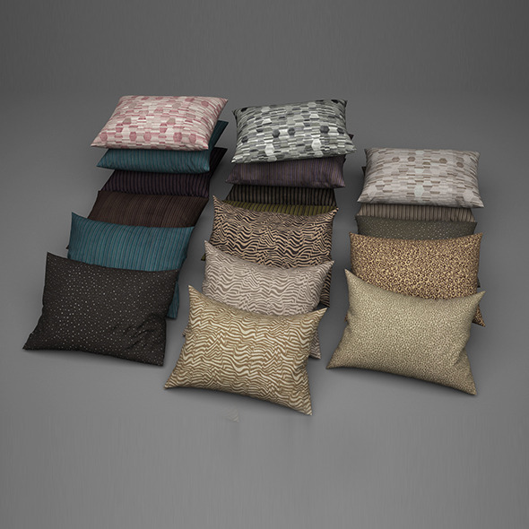 Pillows 17 - 3DOcean Item for Sale