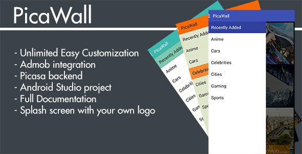 CodeCanyon PicaWall Wallpaper gallery with Picasa backend 11470667
