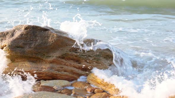 Surf and Stone at Dawn