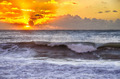 Sunset on the ocean - PhotoDune Item for Sale