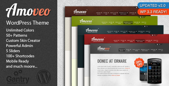 Amoveo Multipurpose Wordpress Theme