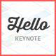 Hello Keynote - Multipurpose Presentation Template - GraphicRiver Item for Sale