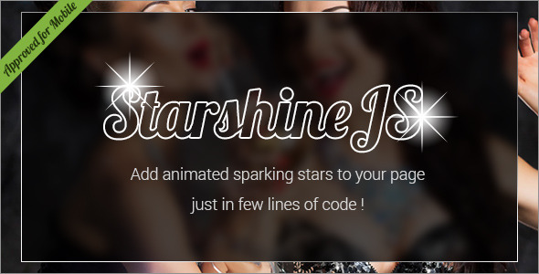 CodeCanyon StarshineJS SVG Animated Sparkling Stars HTML Effect 11498792